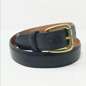 Coach men's leather belt size 34